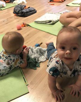 Børn født i maj/juni/juli 2019 (torsdag kl. 10.30-11.15)