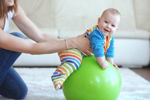 babygymnastikundervisning